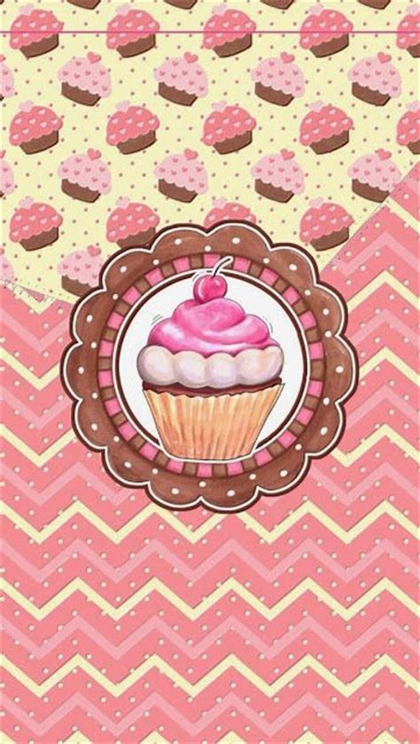 girly cupcake wallpaper sweet cupcakes wallpaper by icandy moldes riscos