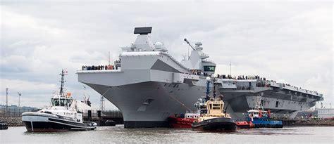 portaerei inglese le portaerei inglesi vulnerabili agli economici missili
