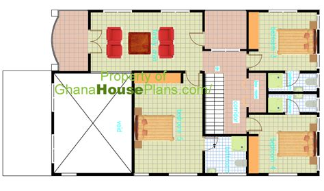 house plans for family of 5 ghana house plans 5 bedroom storey family house in accra ghana first floor plan