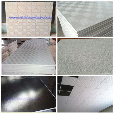 fire resistant 4x8 pvc gypsum ceiling panels in guangzhou