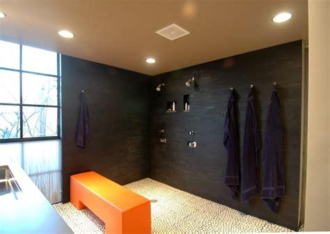 modern shower design houzz style and sustainability bathroom