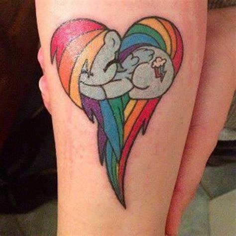 30 beautiful little pony tattoos