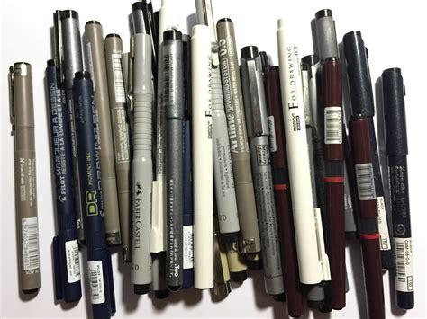 Snowman Drawing Pen 0 5 Mm da 194 nima canetas nanquim uma compara 231 227 o das marcas