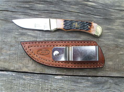 Handmade Knife Sheath - custom handmade leather knife sheaths by hubbard leather
