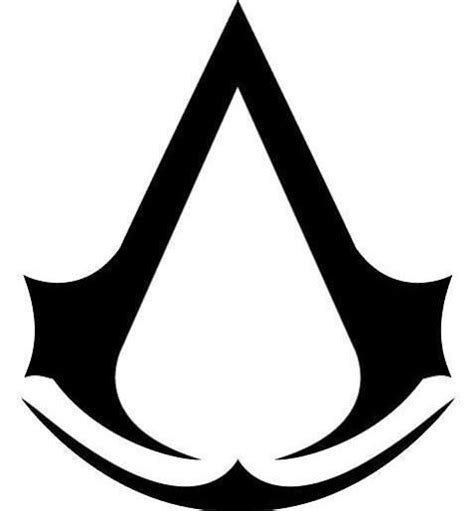 assassin logo tattoo symbol clipart assassin s creed pencil and in color