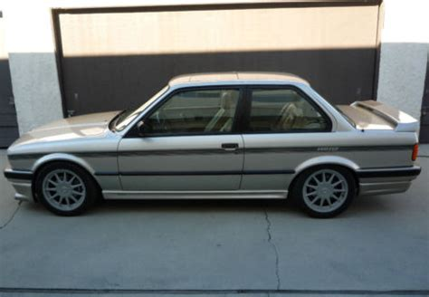 Per Lowering Bmw E30 lower mileage 1989 bmw hartge h26 for sale german cars for sale