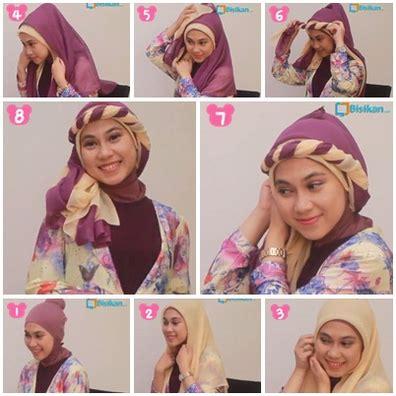 Foto Cara Memakai gambar cara memakai jilbab modern berlapis lapis kumpulan contoh kreasi modern terbaru 2016