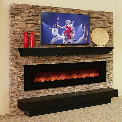 Wall Mount Fireplace Ideas by Best 25 Electric Fireplace Ideas On