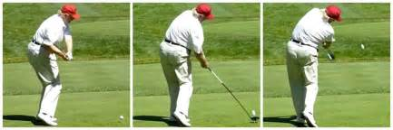 powerful golf swing who has a better golf swing donald trump or samuel l