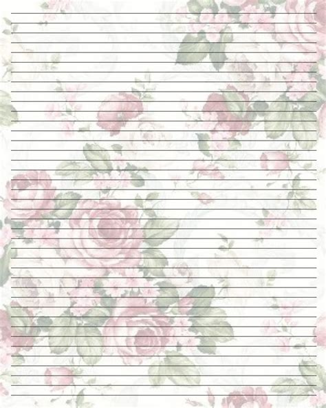 free printable pretty lined paper pretty writing paper printable google search
