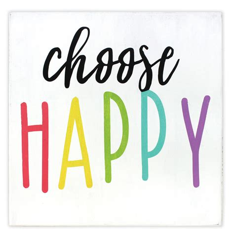 Choose Happy choose happy wall plaque crafts direct