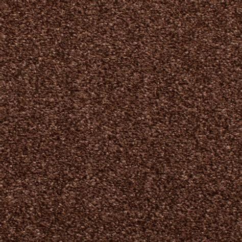 Dark Brown Bedford Budget Saxony Carpet