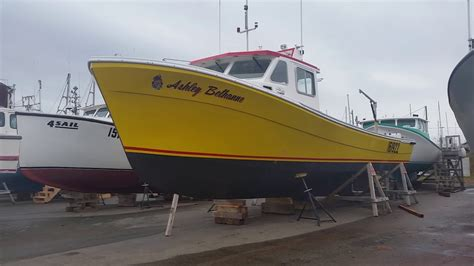 fishing boat for sale pei just a few pei lobster boats youtube