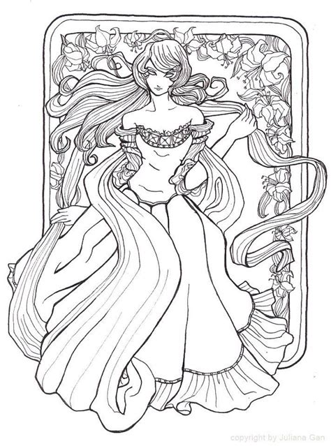 alphonse mucha coloring book pages coloring pages
