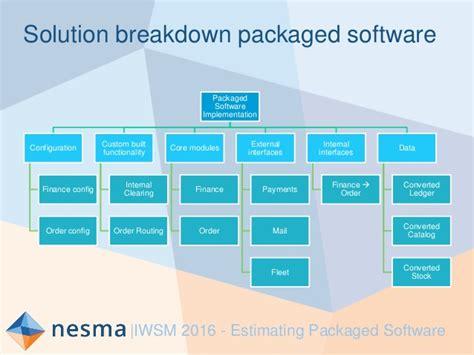 E Solution Financial Standar Program Sertifikasi Internasional workshop estimating packaged software nesma eric der vliet