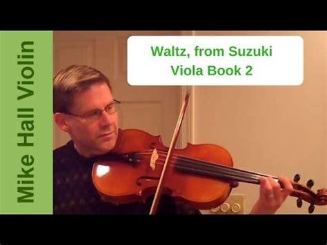 Suzuki Viola Book 2 Waltz Viola