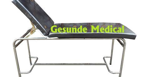 Kursi Tunggu Pasien Stainless Steel meja periksa pasien stainless steel examination table