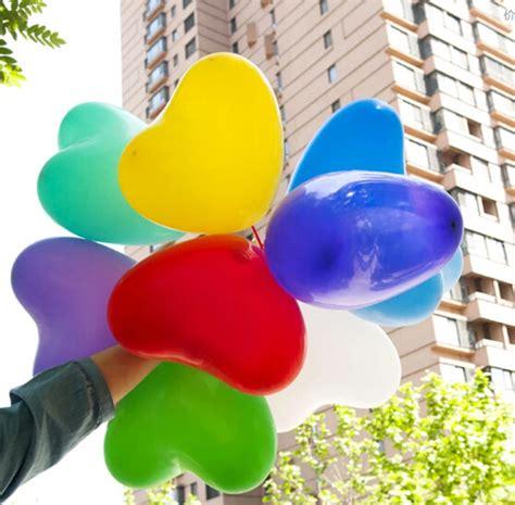 Balon Tiup Pesta Ulang Tahun Satuan aliexpress beli pengiriman gratis 10 pcs lot 10 inch jantung balon lateks bola udara tiup