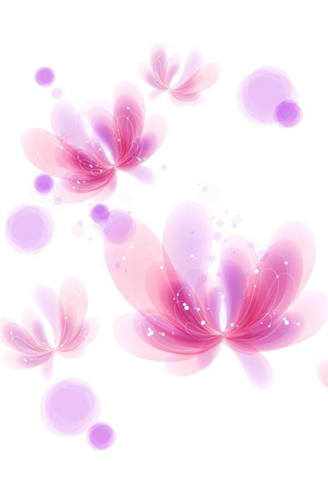 wallpaper cute pink hd cute pink flowers iphone 4 wallpapers free 640x960 hd