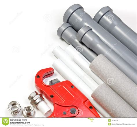 Plumbing Products by Plumbing Supplies Royalty Free Stock Photos Image 19392798