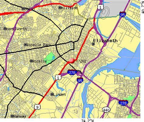 zip code map jersey city elizabeth nj zip code map zip code map