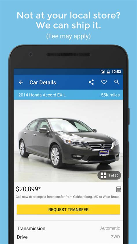 Used Car Apps For Android by Used Cars Trucks For Sale Android Apps On Play