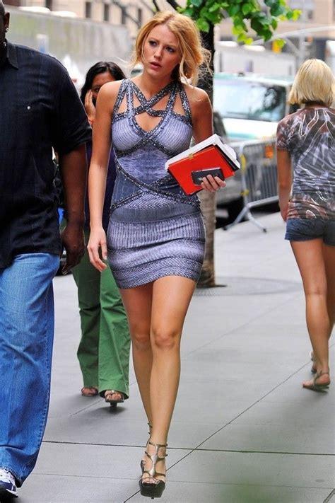 Gossip Style Found Serenas Bag by Serena Der Woodsen Style Bandage Dress Bodycon