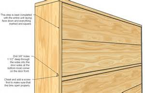 Free Woodworking Plans Corner Shelves by Ana White Shoe Dresser Diy Projects