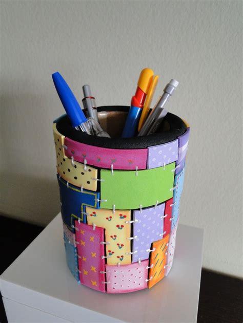 decorar latas con goma eva lapicero de goma eva objetos para decorar latas