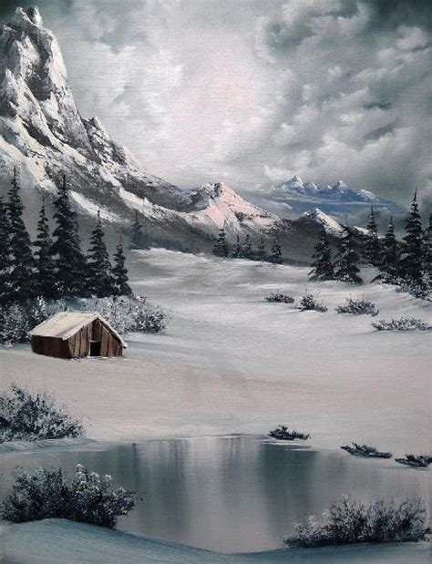 bob ross and painting 1000 images about bob ross on bobs winter