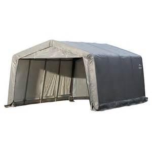 Lowes Outdoor Canopy by Shop Shelterlogic 12 Ft X 16 Ft Polyethylene Canopy