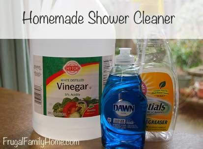 homemade bathroom cleaner recipes homemade shower cleaner recipe
