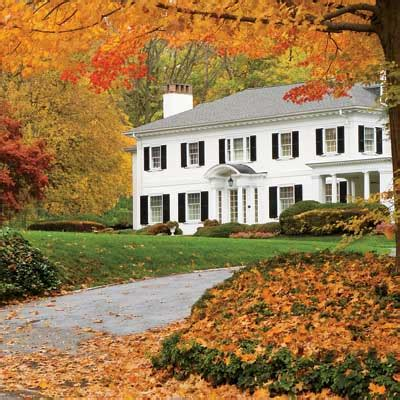 fall house october tip of the month tree maintenance the goodhart
