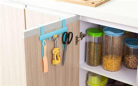 Rak Peralatan Dapur rak gantungan peralatan dapur model hook blue