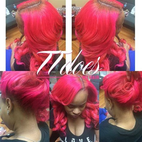 long pink sew in weave 17 best images about my color clients on pinterest wand