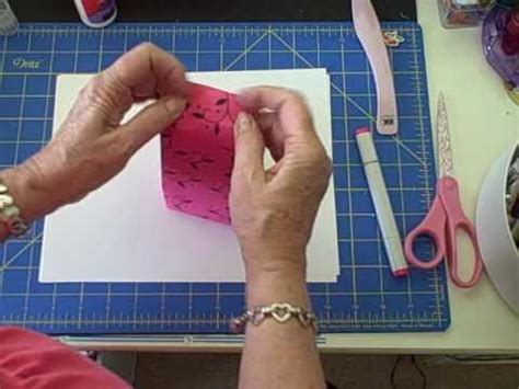 How To Make A Small Gift Bag Out Of Paper - how to make a gift bag from an envelope wmv