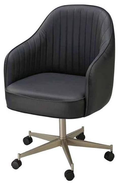 regal bucket seat large dining chair  arms  casters