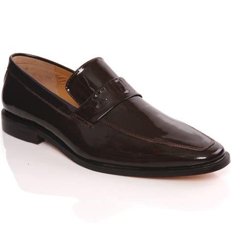 unze mens rassie new fashion pointy toe slip on smart