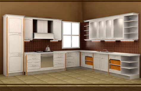 pvc timber kitchen cabinet in shunde district foshan