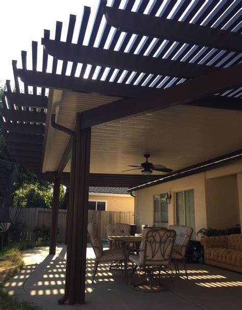 Best 25  Aluminum patio covers ideas on Pinterest   Metal