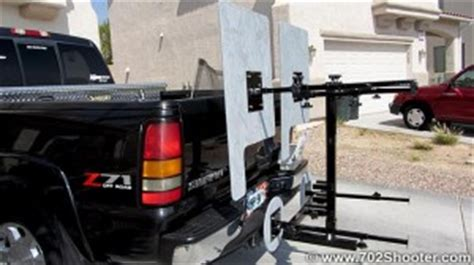 hitch mounted shooting bench shooterest hitch mounted mobile shooting bench review