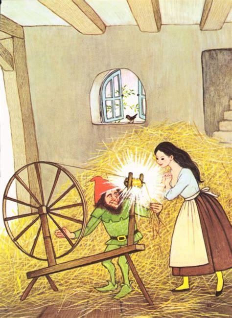 spin the rumpelstiltskin musical books items similar to 1970s rumpelstiltskin illustration page