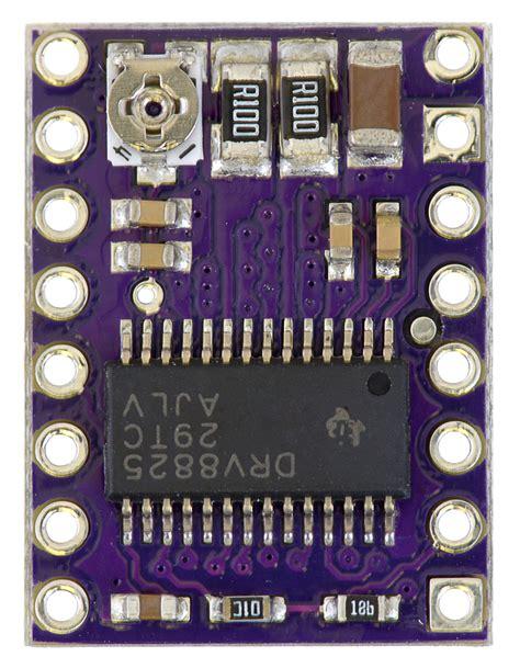 drv8825 sense resistor pololu drv8825 stepper motor driver carrier high current