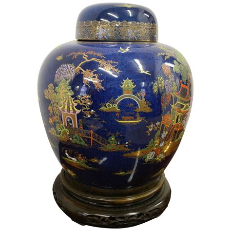 ginger jar antique calton ware ginger jar on chinese stand antiques