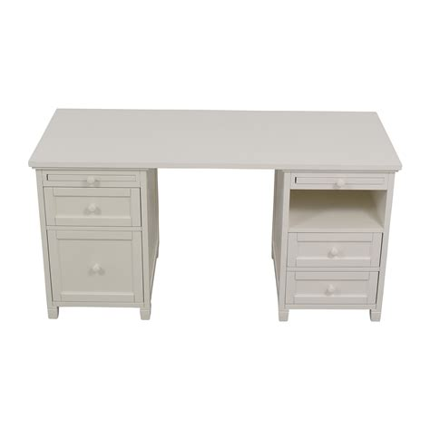 77 Off Ikea Ikea Alex White Desk Tables Pottery Barn White Desk