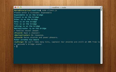 node js tutorial tutsplus real time chat with node js readline socket io tuts