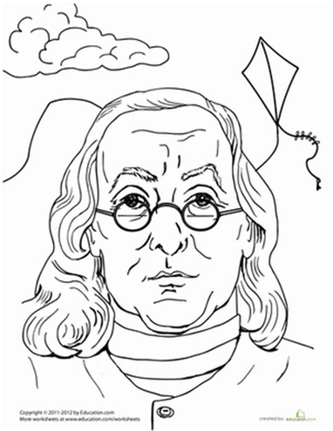 benjamin franklin worksheet education com