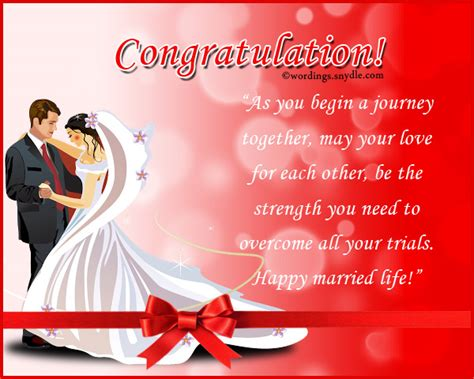Wedding Messages Of Congratulation by Wedding Congratulation Messages Wordings And Messages
