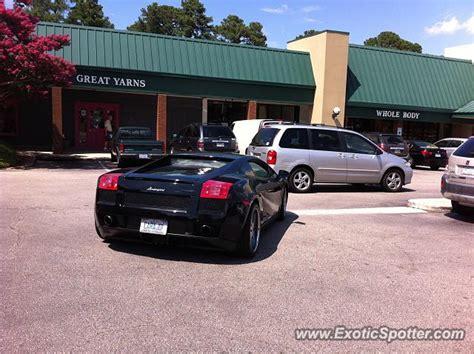 Lamborghini Nc Lamborghini Gallardo Spotted In Raleigh Carolina On