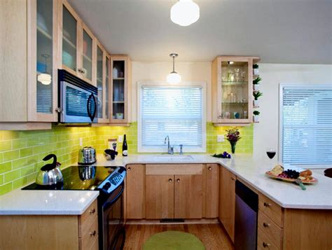 small square kitchen